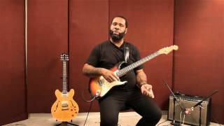 Kirk Fletcher Blues Guitar Lessons