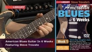 American Blues Guitar Lessons In Six Weeks With Steve Trovato Licklibrary