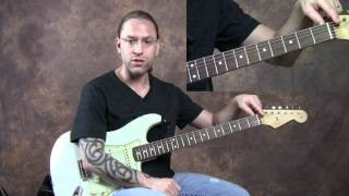 Steve Stine - Guitar Masterclass on Basic Blues and Rock Soloing for Guitar