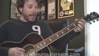 12 Bar Blues Guitar Lesson - Cover Chords Beginner Lessons