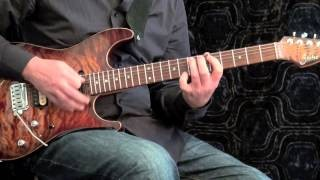Sweeping Blues #2 - Advanced Blues Guitar Solo