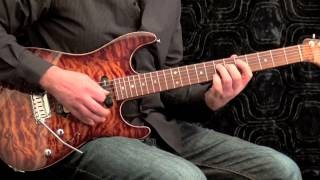 Slow Hand Blues #2 - Blues Guitar Solo Eric Clapton Style