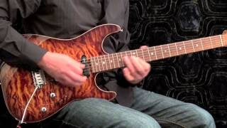 SRV Blues 2 - Stevie Ray Vaughan Style Guitar Solo