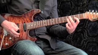 Country Blues Groove #1 - Guitar Solo