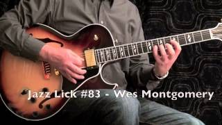 5 Jazz Guitar Licks - Wes Montgomery Style - with Tabs