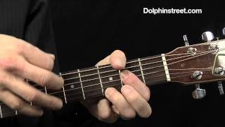 Acoustic Blues Guitar Lesson 12 bar blues