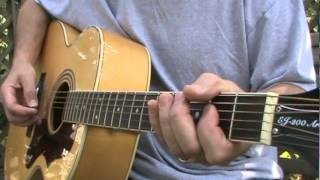 12 Bar Acoustic Blues Lesson in E