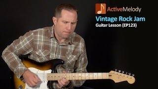 Vintage Rock Jam Guitar Lesson - Robin Trower, Dave Mason - EP123