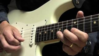 SRV Style Guitar Lick