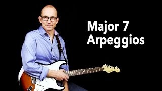 How to play a Major 7 Arpeggio - Q & A with Robert Renman