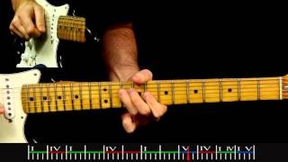 Clapton 24 Nights Era Slow Blues Style Solo