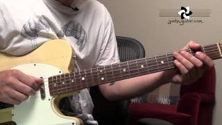 Honky Tonk Women - The Rolling Stones - Guitar Lesson Tutorial