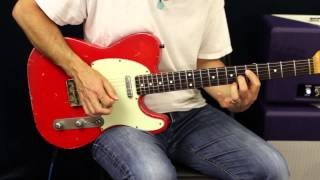How To Solo - Blues Arpeggios - Guitar Lesson - Improvising