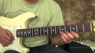 Stevie Ray Vaughan - Texas Flood - Inspired - Blues Guitar Lesson - Blues Guitar Intro