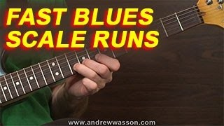 Fast Blues Scale Runs