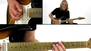 Blues Guitar Lesson - #31 A Modal Blues - Andy Timmons