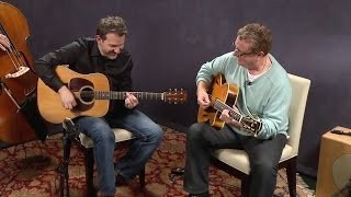 "Martin Taylor and Bryan Sutton playing Jazz Guitar: ""Napa Swing"""
