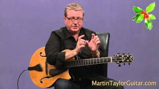 "Martin Taylor plays Fingerstyle Guitar version of ""Silent Night"""