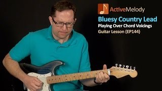 Learn an Easy Country Blues Lead Guitar Lesson - EP144