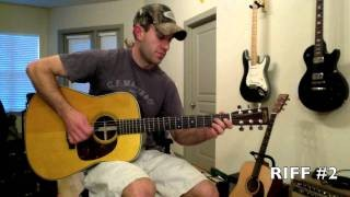 Guitar Lessons - How to Play Country Guitar Solos - Intermediate Country Riff in E Minor