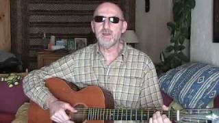 Jim Bruce Blues Guitar Lesson - Doc Watson's Deep River Blues - Lesson #2