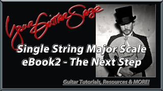 Major Scale - Single String - Beginner Guitar Lesson