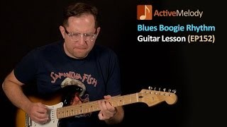Blues Boogie Rhythm Guitar Lesson (With Lead Licks) - EP152