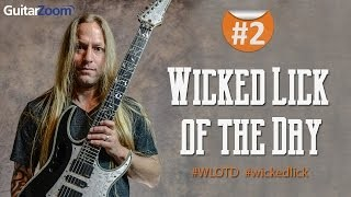 #2 Wicked Guitar Lick of the Day - Patterned Blues Lick