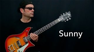 Sunny - Achim Kohl - Jazz Guitar Improvisation with tabs