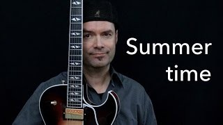 Summertime - Achim Kohl - Jazz Guitar Improvisation with Tabs