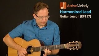 Learn How To Improvise Playing a Harmonized Lead On Guitar - Guitar Lesson - EP157