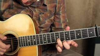 How to Play - Fast Car - by Tracy Chapman - Finger Picking Guitar Lessons - Acoustic Songs on Guitar