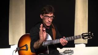 Frank Vignola - Jazz Guitar Lesson - Timing (Excerpt)