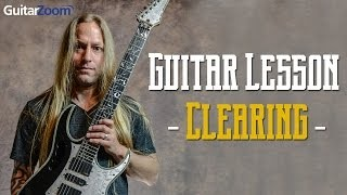 Guitar Lesson - Clearing | Steve Stine | Guitar Zoom