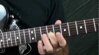 Blues Guitar Lesson: Slow Blues In C Style Lesson