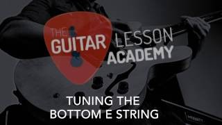 How to tune your Guitar - Guitar Lesson For Beginners