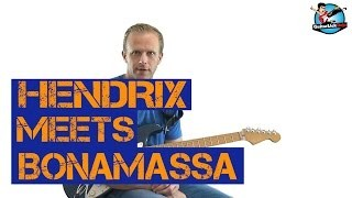 Jimi Hendrix Meets Joe Bonamassa - Guitar Lick Lesson with Tablature