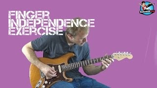 Finger Independence Exercise - Guitar Lesson