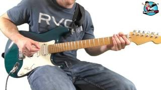 Gritty Blues Rock Licks in E Minor Pentatonic and E Dorian -  Lick 1 - with Tablature