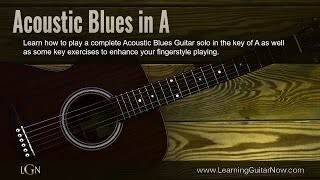 Acoustic Blues in A