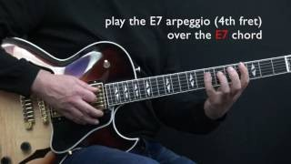 """Minor Swing"" - Easy Jazz Guitar Lesson by Achim Kohl"