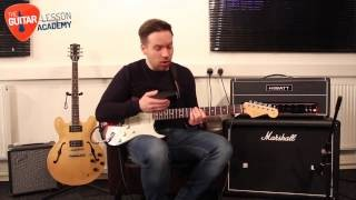 Quick Lick Series - Blues Rock Guitar Licks - Blues Guitar Lesson - Easy Guitar Lesson