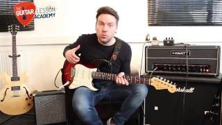 Quick Licks - Play Like Dave Gilmour - Pink Floyd Money - Guitar Lesson Guitar Tutorial