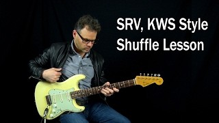 Power Shuffle Blues Groove Lesson