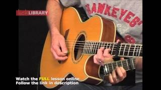How To Play Hotel California On Guitar | Guitar Lesson Sample Licklibrary Sample