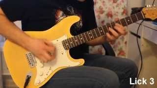 Dmitry Andrianov - Fusion Pentatonic Licks