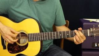 Cowboy Chord Progression Ideas - Rhythm - Acoustic Guitar Lesson - EASY