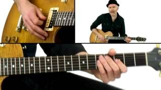 Billy Gibbons Guitar Lesson - #4 Lick - Jeff McErlain