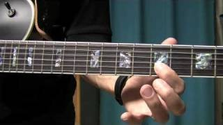 Swinging Blues Guitar Lick Lesson