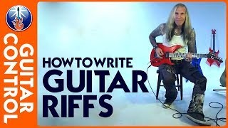 How to Write Riffs - Guitar Lesson on Rock Riffs, Metal Riffs, and How to Write Your Own
